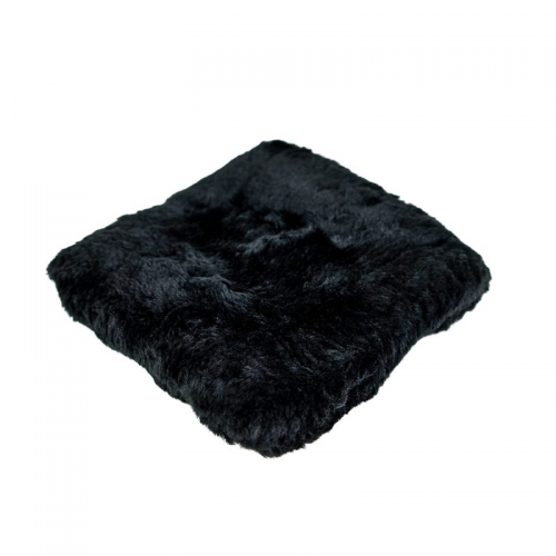 Carbon Collective Merino Wool Wash Pad Black