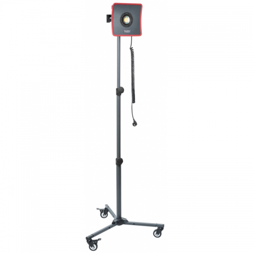 Scangrip wheel stand treppiedi regolabile con ruote