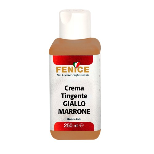 FENICE Crema Tingente - GIALLO MARRONE 250ml