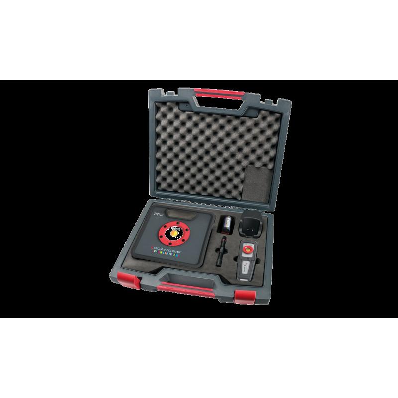 Scangrip colour match kit 2 italian detailing i migliori prodotti per la cura dell 39 auto for Professional car interior detailing kit