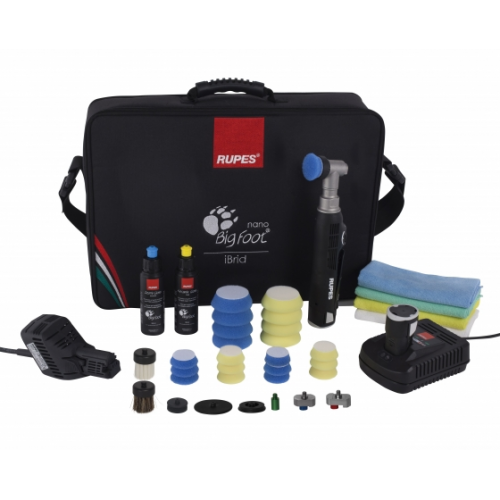 RUPES NANO POLISHER SHORT NECK 230/240V 50/60HZ KIT DLX