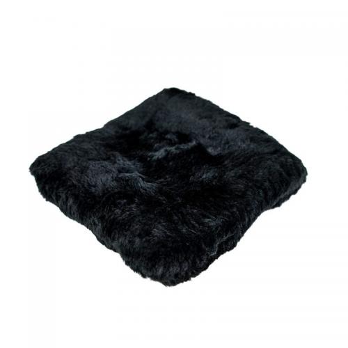 Carbon Collective Merino Wool Wash Pad Black