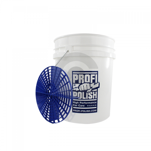 ProfiPolish Grit Guard Washing Bucket 18,9 Liter